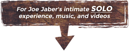 For Joe Jaber's intimate SOLO experience, music, and videos